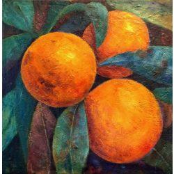 Narancsok, csendélet