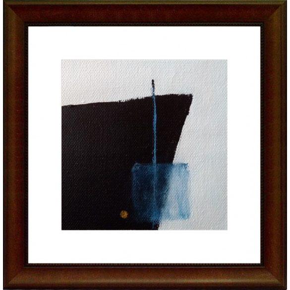 Titanic. Absztrakt festmény, vászon