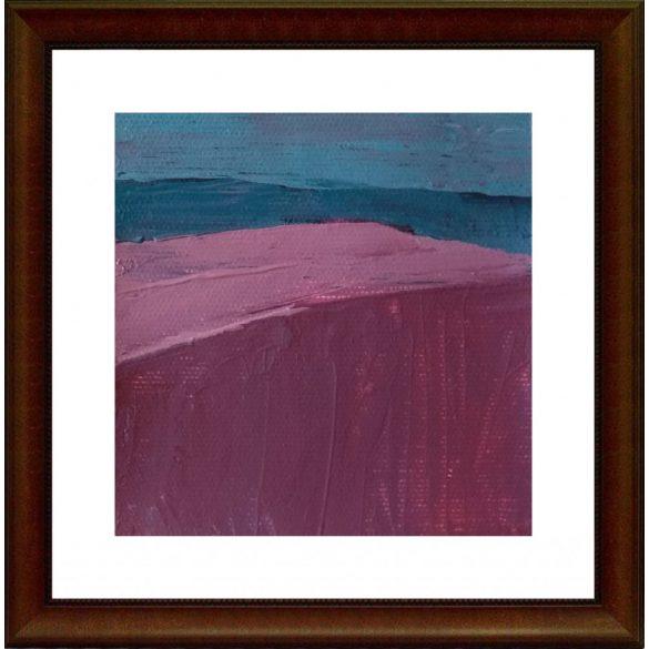 Dombok, absztrakt festmény, vászon