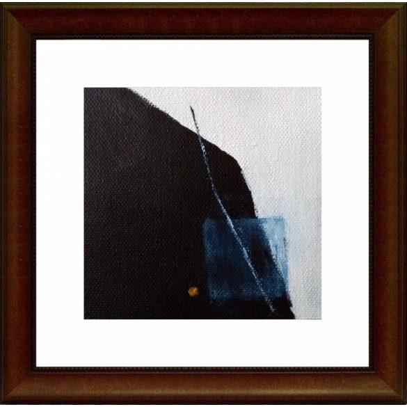 Yosemite, absztrakt festmény, vászon