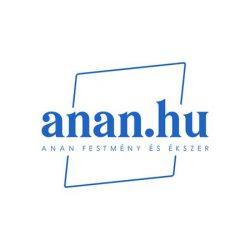 Ásvány karkötő, kék, egyedi, fémmentes, antiallergén, pamut fonal, gyöngy
